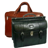 * Leather Laptop Briefcases / Luggage