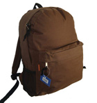 "LM192<br>18"" padded simple Backpack"