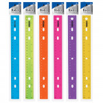 "#322<br>12"" (30cm) Jeweltones Color Ruler"
