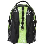 "Deluxe Hawaiian Flowers Floral Print Computer Backpack fits 15"" Laptop"
