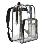 LM222<br>Heavy Duty Clear Classic School Backpack for Security Checkpoint